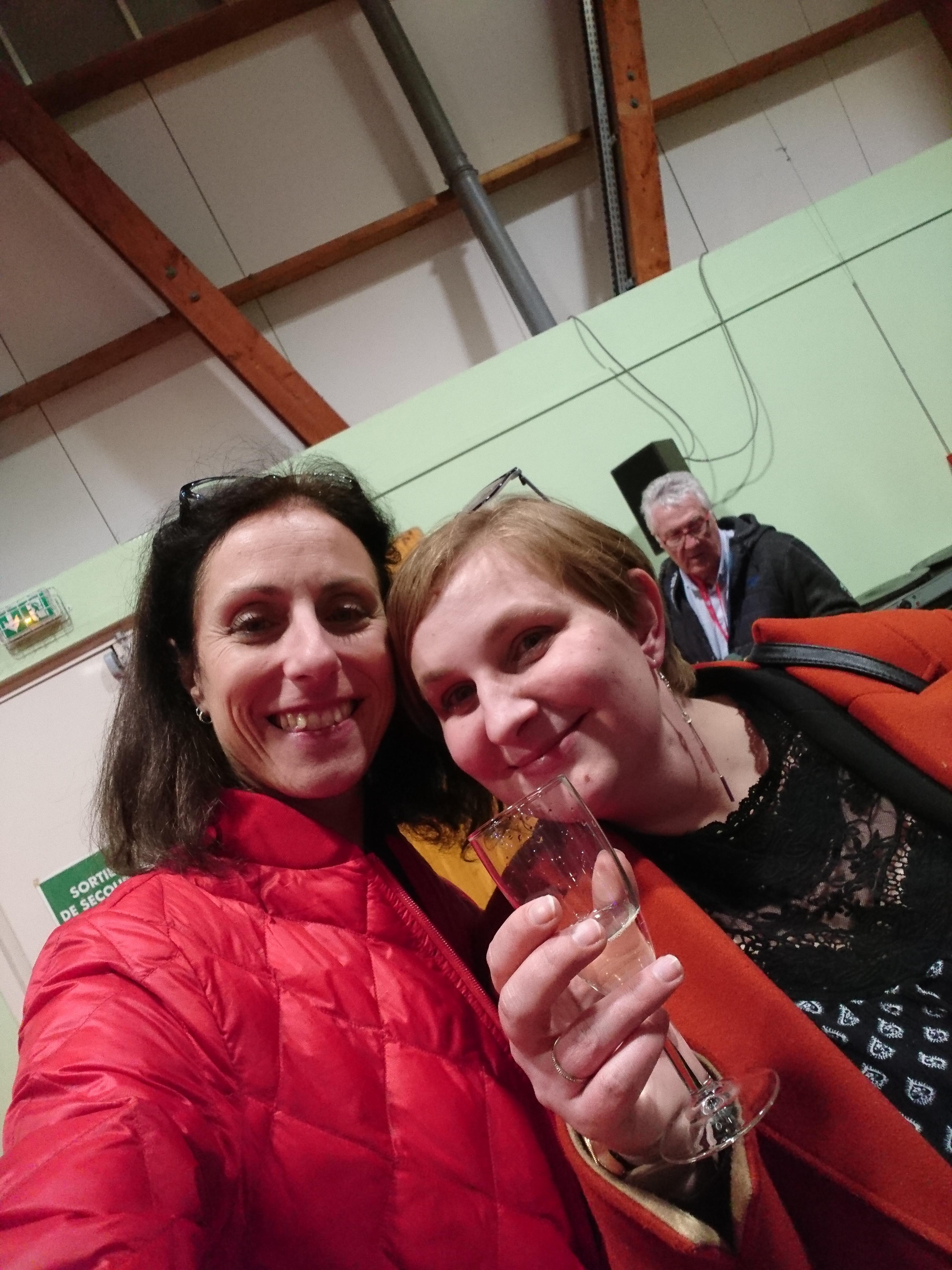 Avec Perrine Savary