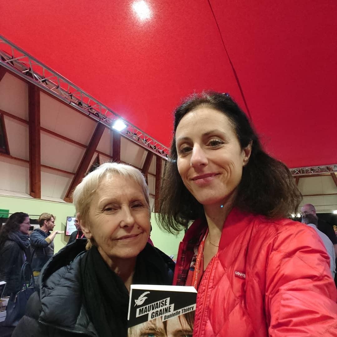 Avec Danielle Thierry