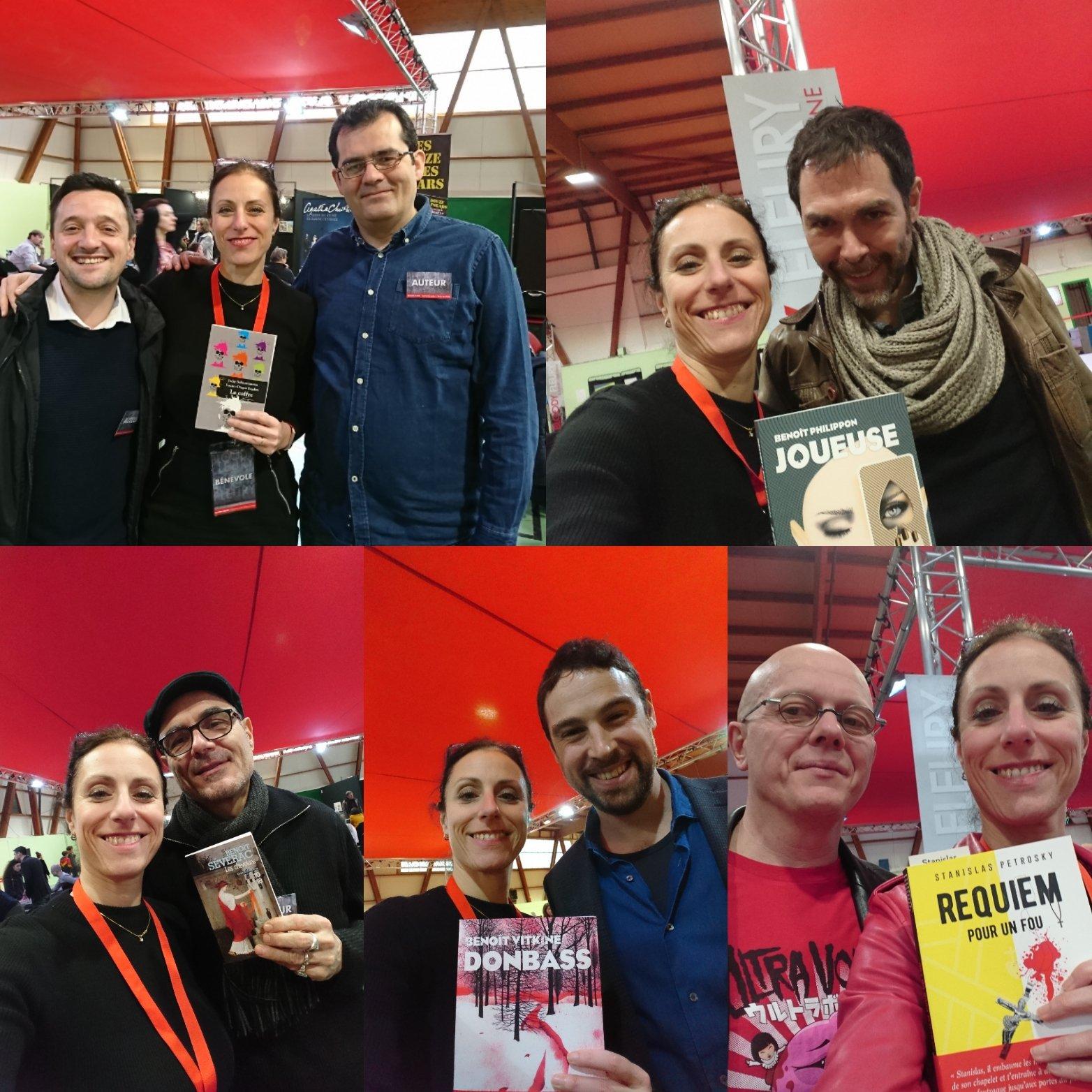 Avec Jacky Schwartzman, Lucian-Dragos Bogdan, Benoît Philippon, Benoît Severac, Benoît Vitkine (que de Benoîts cette année!) et Stanislas Petrovsky